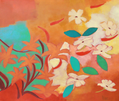 ABSTRACTED FLOWERS I, KATE MCGUINNESS