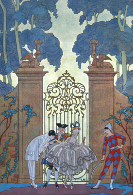 COLOMBINE, GEORGE BARBIER