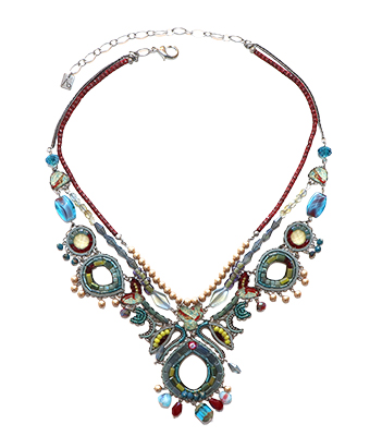 TURQUOISE CROWN LIMITED EDITION NECKLACE, AYALA BAR