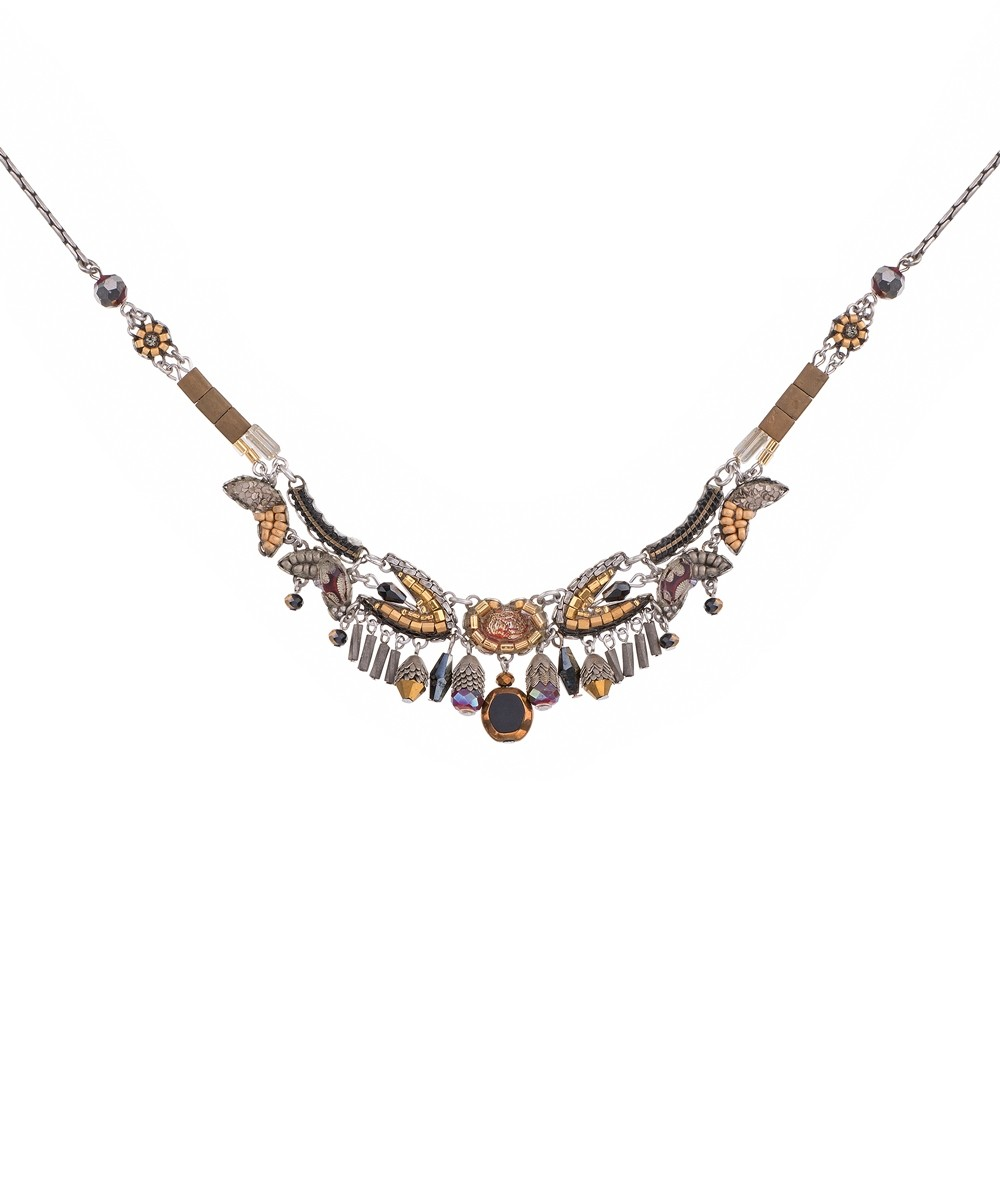AYALA BAR - GOLDEN FOG NECKLACE - BEADS
