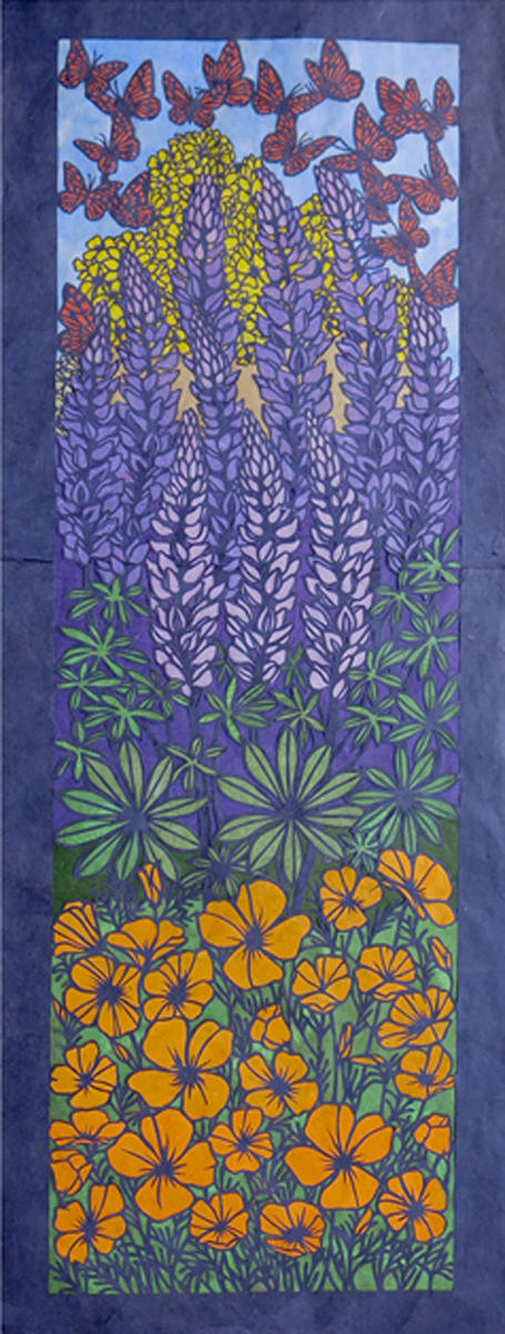 LORRAINE BUBAR - SPRING AWAKENING (RIGHT) - PAPERCUT - 19 X 51