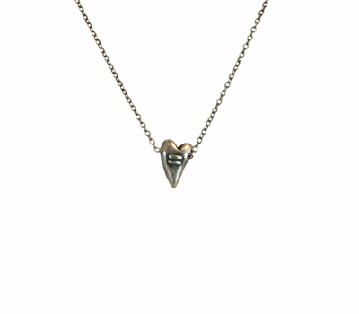 EQUALITY HEART NECKLACE, KAREN BOELTS