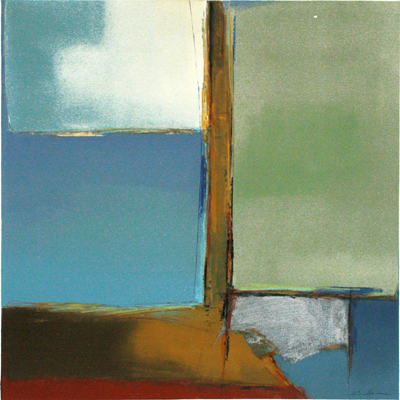 UNTITLED ABSTRACT, DON BRADSHAW