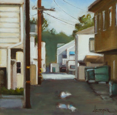 ALLEY REFLECTIONS, DANA COOPER