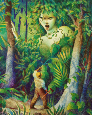 MOTHER OF THE JUNGLE, RAUL COLON