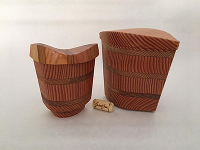 STRIATED HARMONY BOXES, LISA DALLENDORFER