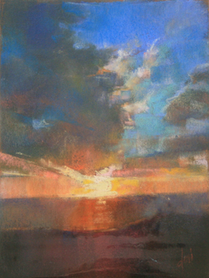 TEAL SKY, DORI DEWBERRY