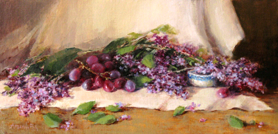 SCATTERED LILACS, AMANDA FISH