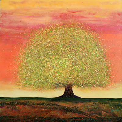 RED DREAMING TREE, MELISSA GRAVES BROWN