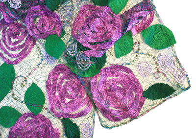 PASSIONATE FOR ROSES SCARF, MARY HAMMOND