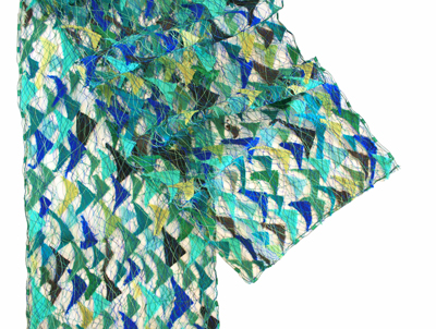 CHOPPY SEAS SCARF, MARY HAMMOND