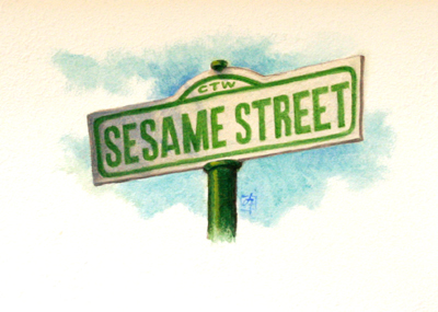 SESAME STREET, JOHNSON AND FANCHER