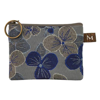 COIN PURSE IN PANSY BLUE, MARUCA DESIGN