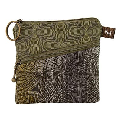 ROO POUCH IN PEWTER FOREST, MARUCA DESIGN