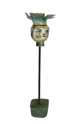 PUPPET WITH FLOWER CROWN, LISA MERTINS