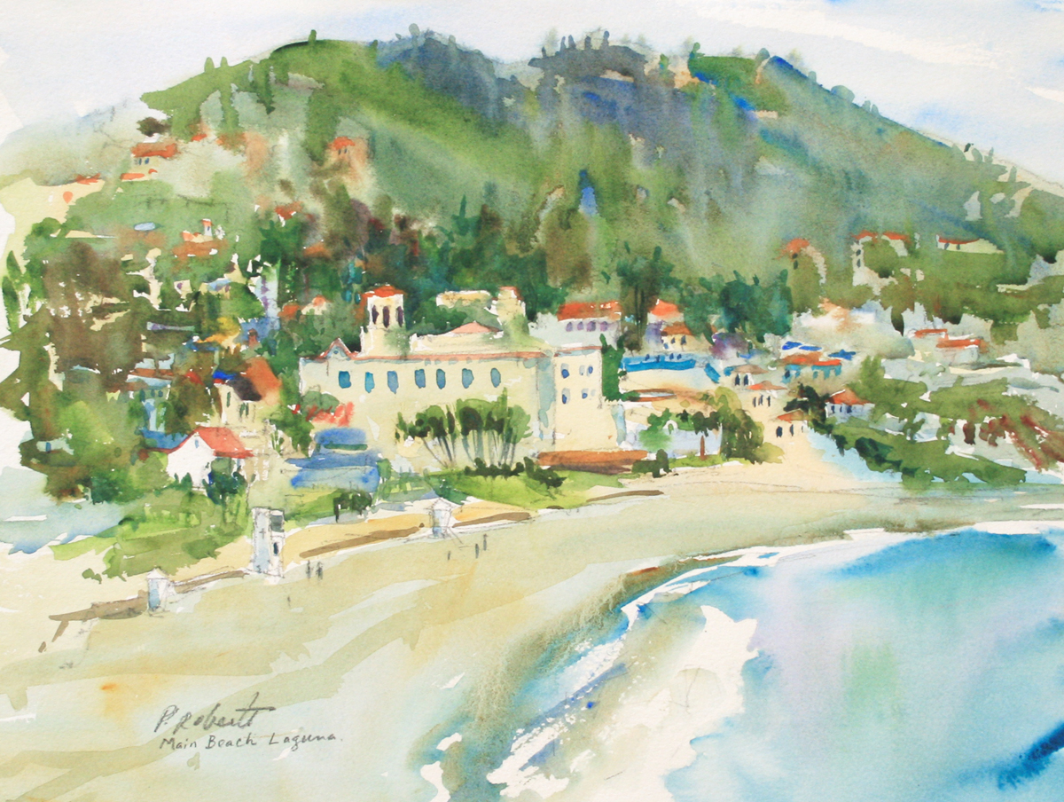 MAIN BEACH, LAGUNA, PETE ROBERTS