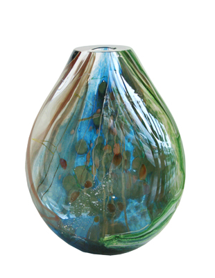 AQUOS ROUNDED VASE, RANDI SOLIN