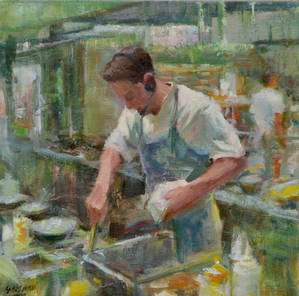 THE GOURMET CHEF | JANINE SALZMAN | Chemers Gallery