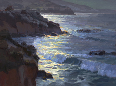 MOONLIT SURF, JIM WODARK