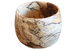 TOM BORUSKY - KEEPSAKE BOWL - SPALTED HACKBERRY - WOOD