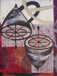 NICK CAPACI - SITE XL - MONOTYPE - 22 X 30