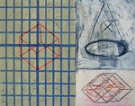 NICK CAPACI - FRACTAL CUBED - MONOTYPE - 29.5 X 22.5