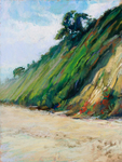 DORI DEWBERRY - SANTA BARBARA COAST - PASTEL - 12 X 16