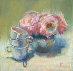 DORI DEWBERRY - SETTING UP - PASTEL - 12 X 12