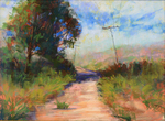DORI DEWBERRY - FORGOTTEN PATH - PASTEL - 16 x 12