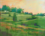DORI DEWBERRY - MORNING PASTURE - PASTEL - 10 X 8