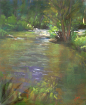 DORI DEWBERRY - CHASING RIPPLES - PASTEL - 8 x 10