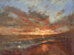 DORI DEWBERRY - END OF DAY - PASTEL - 8 X 6