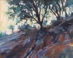 DORI DEWBERRY - COOL SHADOWS - PASTEL - 10 X 8