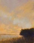 DORI DEWBERRY - AFTERNOON LIGHT - PASTEL ON PAPER - 16 X 20