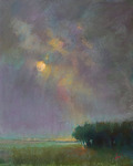 DORI DEWBERRY - ATMOSPHERIC DAY - PASTEL ON PAPER - 16 X 20