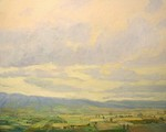 JERRY FUHRIMAN - VALLEY VIEW - OIL - 60 X 48
