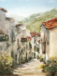 JULIE HILL - LA FRIGILIANA - WATERCOLOR - 12 X 16