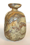 TIM KEENAN - SANDY TEXTURED VESSEL - CERAMIC - 4 X 7 X 4
