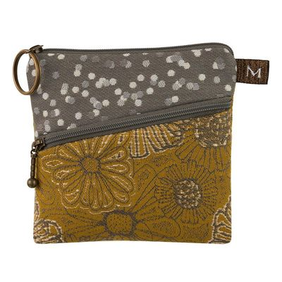 MARUCA DESIGN - ROO POUCH IN BLOOMING SAFRON - FIBER