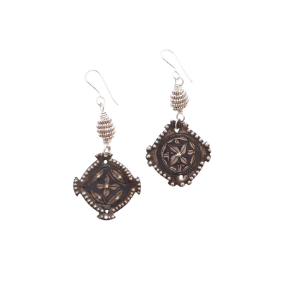 JANET SEWARD - MOROCCAN NIELO EARRINGS - STERLING