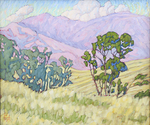 JOHN SAWYER - HEART OF SADDLEBACK - OIL ON CANVAS - 23.5 X 19.75