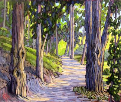 JOHN SAWYER - SERRANO CREEK TRAIL - OIL - 20 X 24
