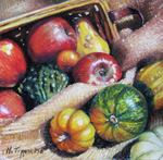 MARIE TIPPETS - HARVEST - PASTEL - 6 X 6