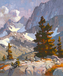 JIM WODARK - SIERRA RIDGE LINE - OIL ON LINEN - 20 X 24