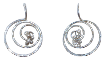 YED OMI - STERLING LUNA EARRING - S - STERLING