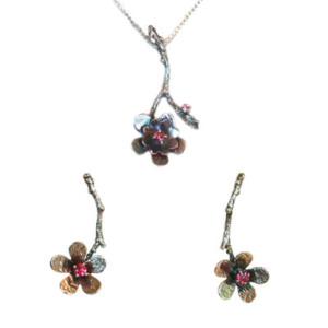 Michelene Berkey silver gemstone jewelry