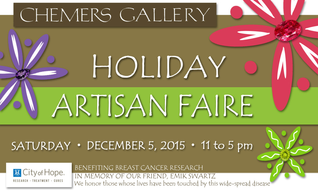 Chemers Gallery Holiday Artisan Faire Logo
