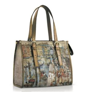 Icon leather shoes and handbags