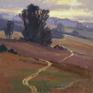 Jim Wodark traditional landscape painting