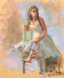 Dana Cooper contemporary figurative painting